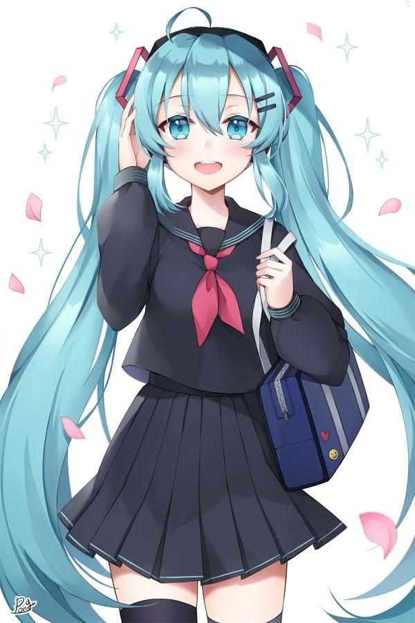 Tags: Anime, Pixiv Id 16723048, VOCALOID, Hatsune Miku, Pixiv