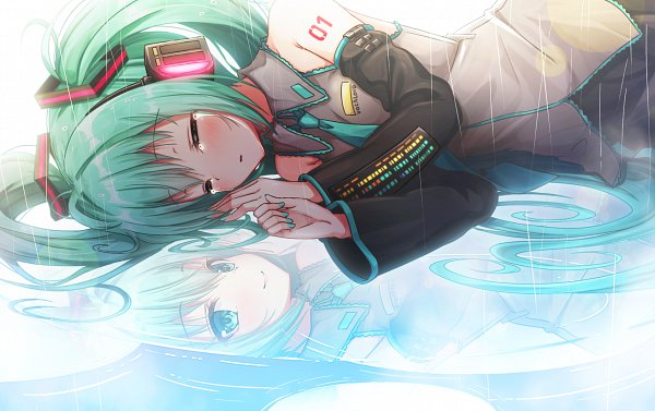 Tags: Anime, Matokechi, VOCALOID, Hatsune Miku