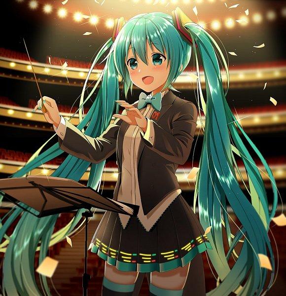 Tags: Anime, Nonoko, VOCALOID, Hatsune Miku, Hatsune Miku Symphony