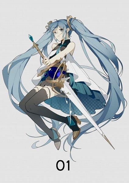 Tags: Anime, VOCALOID, Hatsune Miku, Fanart, Fanart From Pixiv, Pixiv