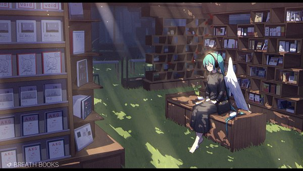 Tags: Anime, ZYre, VOCALOID, Hatsune Miku, Wallpaper