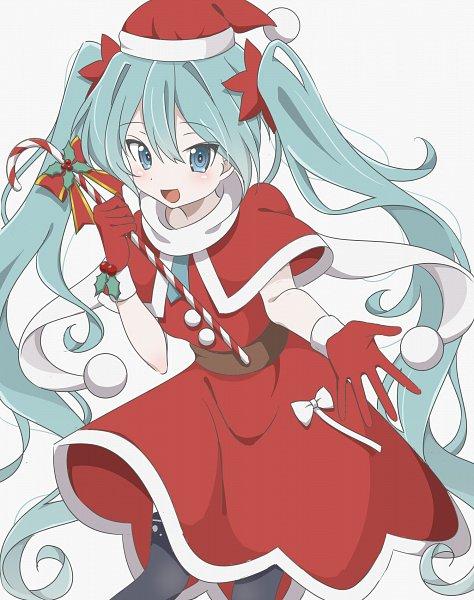 Tags: Anime, Pixiv Id 28774571, VOCALOID, Hatsune Miku, Candy Cane