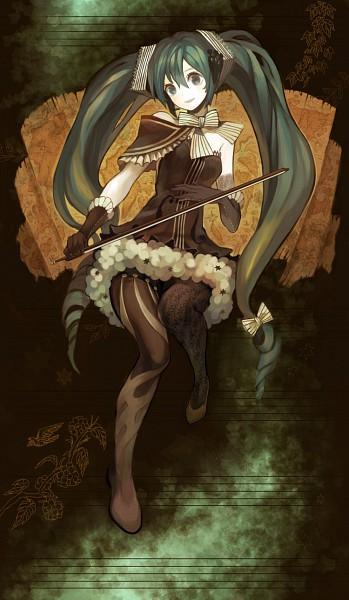 Tags: Anime, Mikebosi, VOCALOID, Hatsune Miku, Mobile Wallpaper