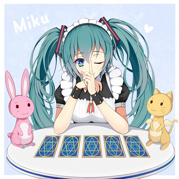 Tags: Anime, Lucky LCR, VOCALOID, Hatsune Miku