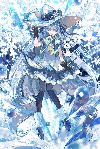 Tags: Anime, Pixiv Id 3749199, VOCALOID, Rabbit Yukine, Hatsune Miku, Fanart, Fanart From Pixiv, Pixiv, Yuki Design 2014, Yuki Design