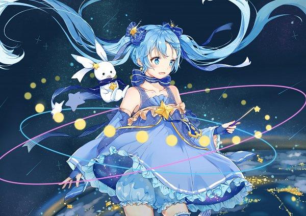 Tags: Anime, Pixiv Id 12240222, VOCALOID, Rabbit Yukine, Hatsune Miku, Fanart, Yuki Design, Yuki Design 2017