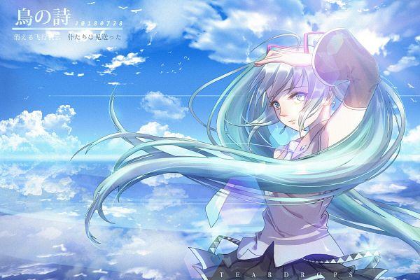 Tags: Anime, Pixiv Id 27354041, VOCALOID, Hatsune Miku, Pixiv, Fanart, Fanart From Pixiv