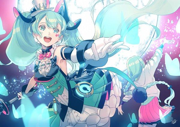 Tags: Anime, Cherico, VOCALOID, Hatsune Miku, Magical Mirai 2019, Fanart, Magical Mirai