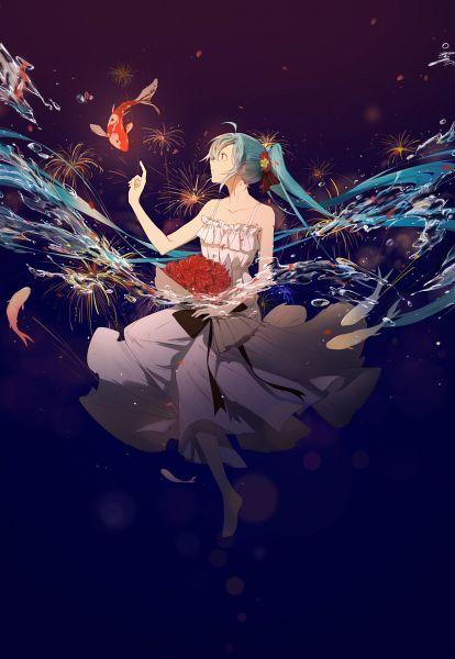 Tags: Anime, Pixiv Id 8066934, VOCALOID, Hatsune Miku, Fanart, Fanart From Pixiv, Pixiv