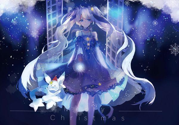 Tags: Anime, Pixiv Id 7238462, VOCALOID, Rabbit Yukine, Hatsune Miku, Pixiv, Yuki Design 2017, Yuki Design, Fanart, Fanart From Pixiv