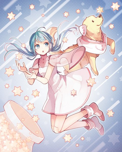 Tags: Anime, Tama Songe, VOCALOID, Hatsune Miku