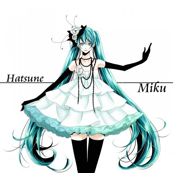 Tags: Anime, Haruma High Drop, VOCALOID, Hatsune Miku, Peony, Pixiv