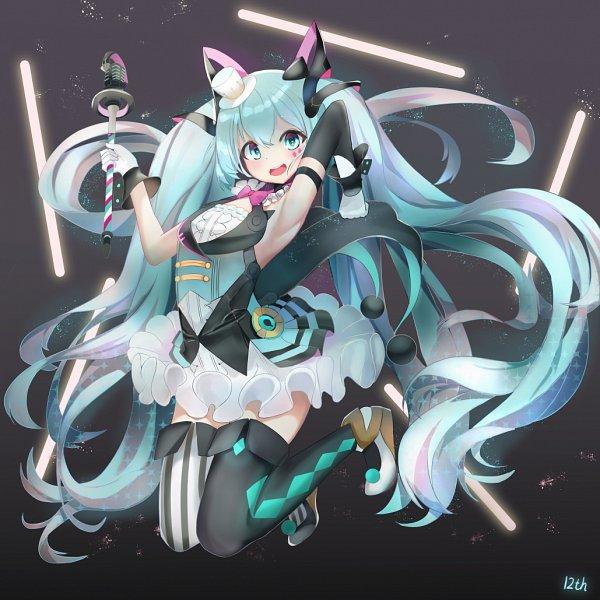 Tags: Anime, Pixiv Id 14475287, VOCALOID, Hatsune Miku, Fanart From Pixiv, Pixiv, Magical Mirai 2019, Magical Mirai, Fanart