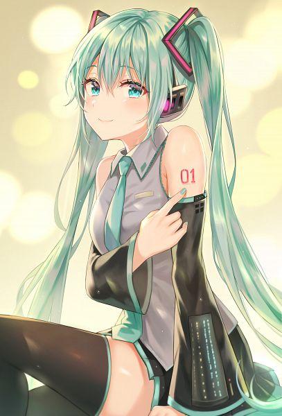 Tags: Anime, TOKKYU, VOCALOID, Hatsune Miku, Fanart, Fanart From Pixiv, Pixiv