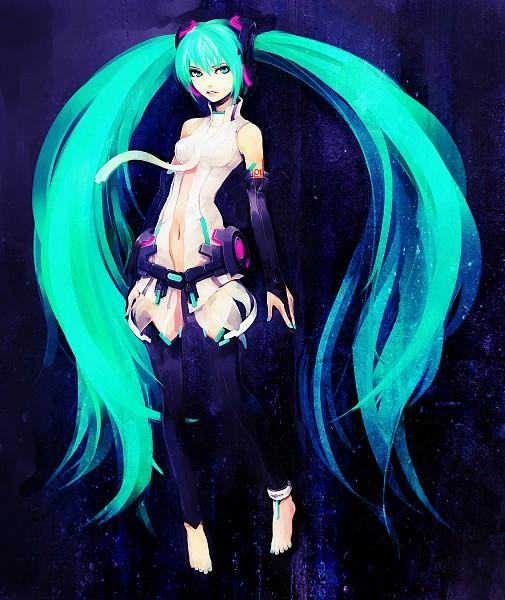 Tags: Anime, Hironox, VOCALOID, Hatsune Miku, Append