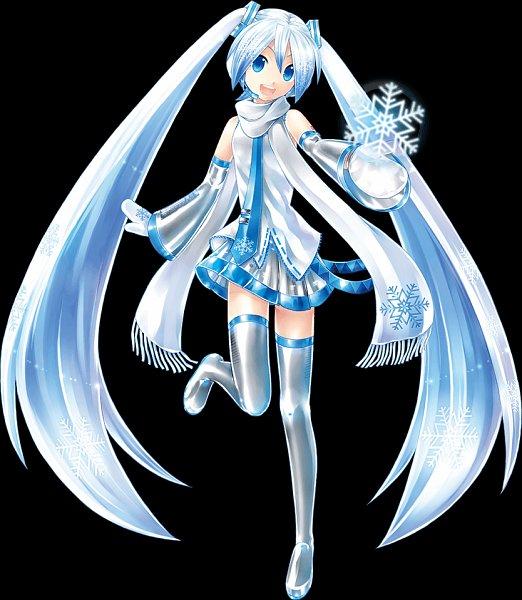 Tags: Anime, KEI (Pixiv4088), VOCALOID, Hatsune Miku, Yuki Design 2011, Yuki Design, Official Art