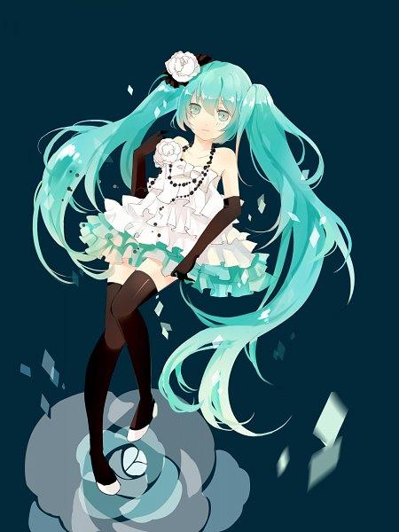 Tags: Anime, Tunami, VOCALOID, Hatsune Miku, Fanart, Fanart From Pixiv, Pixiv
