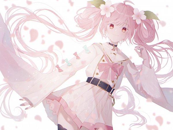 Tags: Anime, Pixiv Id 19655182, VOCALOID, Hatsune Miku, Sakura Design, Fanart, Fanart From Pixiv, Pixiv, Hatsune Miku Day
