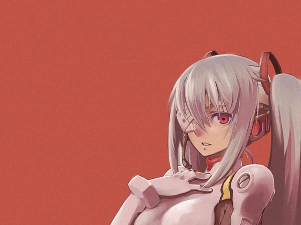 Tags: Anime, CHAN×CO, VOCALOID, Hatsune Miku, Ayanami Rei (Cosplay), Pixiv, Wallpaper