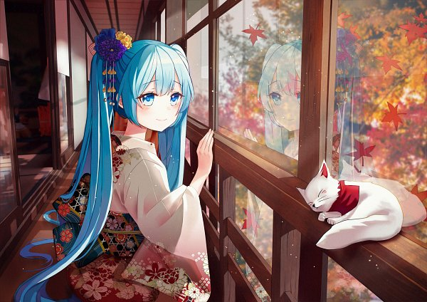Tags: Anime, Pixiv Id 34209175, VOCALOID, Hatsune Miku, Pixiv, Kyoto Nippon Festival 2019, Fanart, Fanart From Pixiv