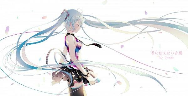 Tags: Anime, Sanaa, VOCALOID, Hatsune Miku, Tell Your World