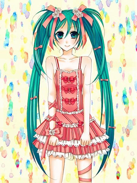 Tags: Anime, Sakura Ryuu, VOCALOID, Hatsune Miku, Pixiv