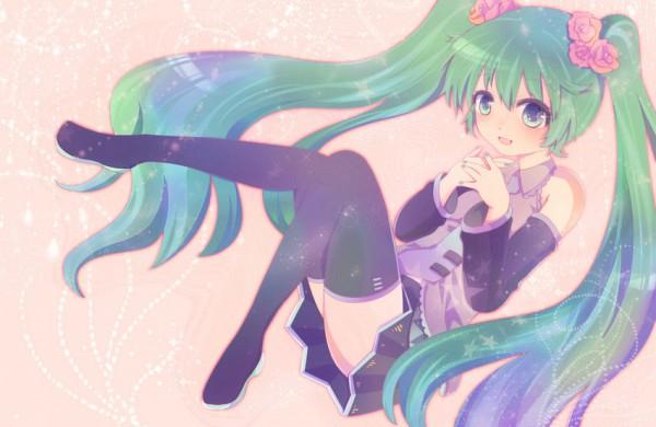 Tags: Anime, VOCALOID, Hatsune Miku, Artist Request