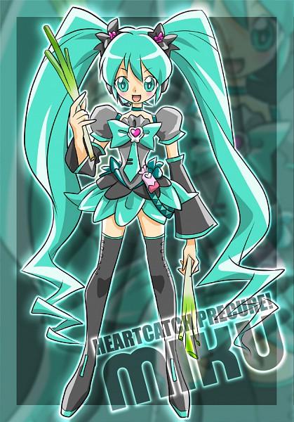 Tags: Anime, Yukichi, Heartcatch Precure!, VOCALOID, Hatsune Miku, Pixiv