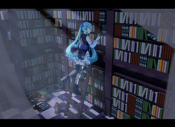 Tags: Anime, Pixiv Id 15470585, VOCALOID, Hatsune Miku, Constellation, Railing, Pixiv, Fanart From Pixiv, Fanart