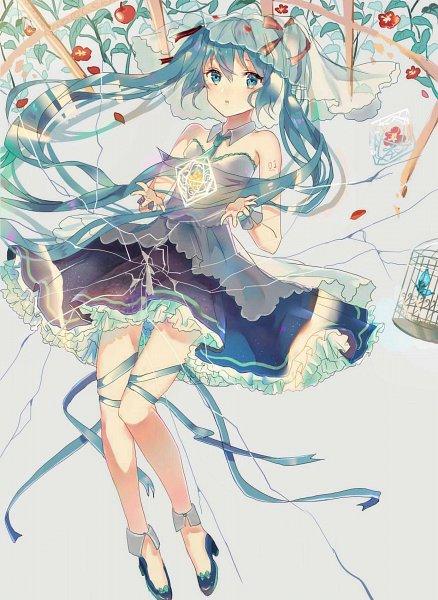 Tags: Anime, Pixiv Id 9127296, VOCALOID, Hatsune Miku