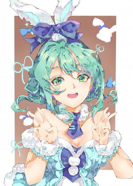 Tags: Anime, Pixiv Id 8025967, VOCALOID, Hatsune Miku, Pixiv, Bicute Bunnies Miku, Fanart, Fanart From Pixiv