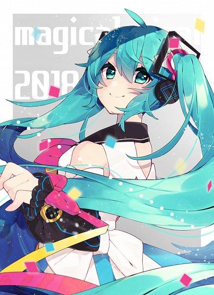 Tags: Anime, Pixiv Id 24006385, VOCALOID, Hatsune Miku, Magical Mirai, Fanart, Fanart From Pixiv, Pixiv, Magical Mirai 2018