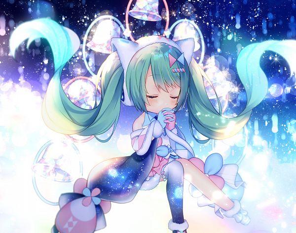 Tags: Anime, Siomidu, VOCALOID, Hatsune Miku, Semi Chibi, Magical Mirai, Fanart, Fanart From Pixiv, Magical Mirai 2020, Pixiv