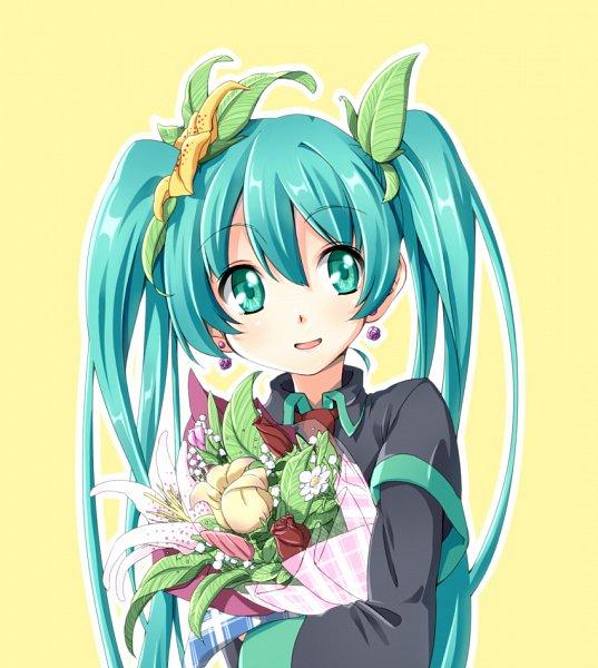 Tags: Anime, Pixiv Id 7358, VOCALOID, Hatsune Miku