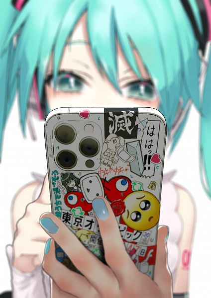 Tags: Anime, rsk, VOCALOID, Hatsune Miku, Fanart, Twitter