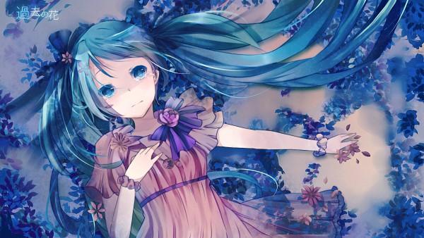Tags: Anime, Makishimu, VOCALOID, Hatsune Miku, Pixiv, Wallpaper, HD Wallpaper, Facebook Cover