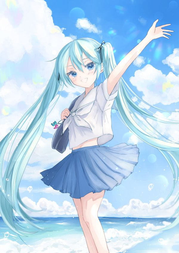 Tags: Anime, Pixiv Id 5550540, VOCALOID, Hatsune Miku, Fanart, Fanart From Pixiv, Pixiv