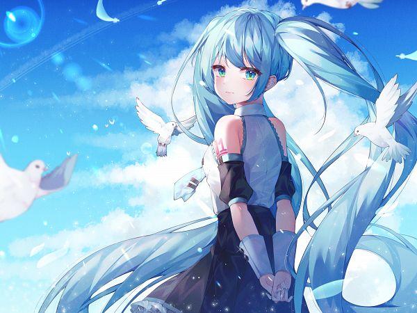 Tags: Anime, Pixiv Id 41207273, VOCALOID, Hatsune Miku, Fanart, Fanart From Pixiv, Pixiv