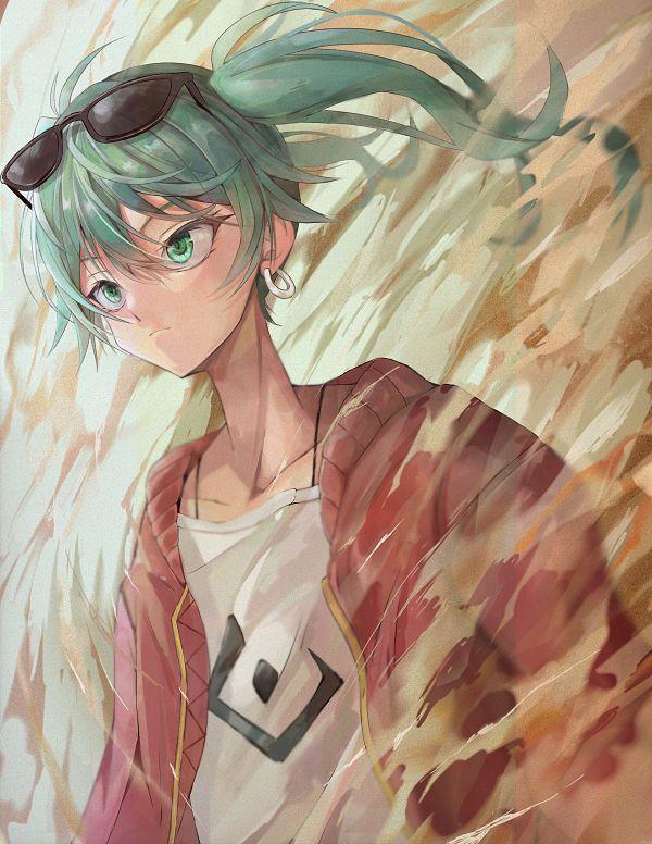 Tags: Anime, Pixiv Id 61151722, VOCALOID, Hatsune Miku, Pixiv, Suna no Wakusei, Fanart, Fanart From Pixiv