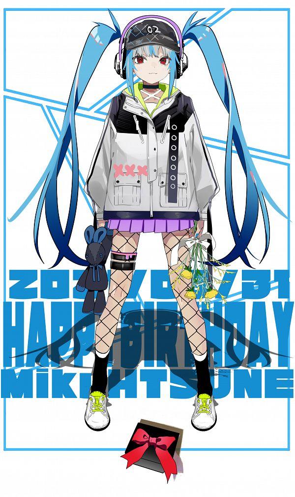 Tags: Anime, Pixiv Id 14316642, VOCALOID, Hatsune Miku, X (Symbol), Pixiv, Fanart, Fanart From Pixiv