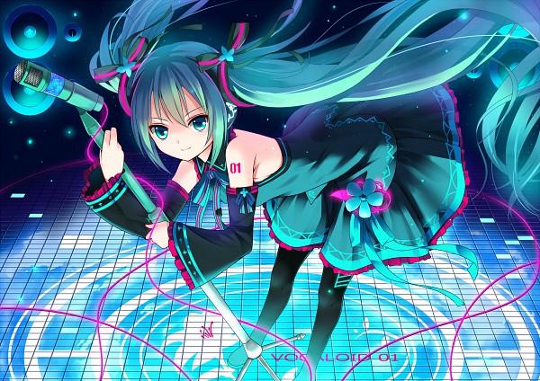 Tags: Anime, VOCALOID, Hatsune Miku, Artist Request, Fanart