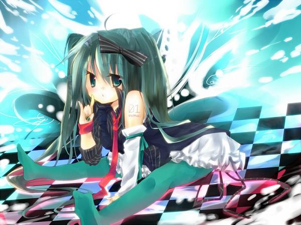 Tags: Anime, Hota Aoi, VOCALOID, Hatsune Miku, Pixiv