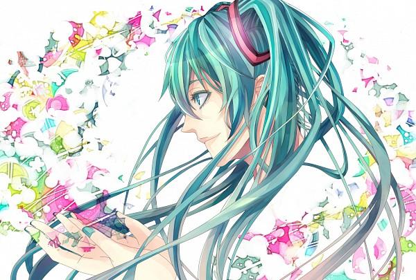 Tags: Anime, Pixiv Id 1477217, VOCALOID, Hatsune Miku, Wallpaper
