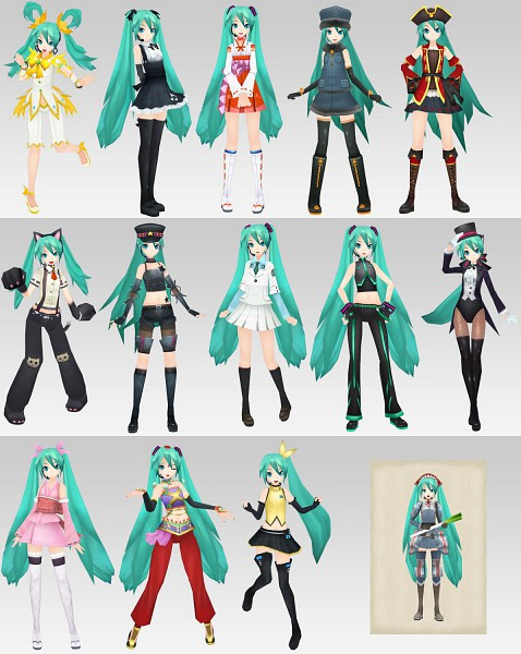 Tags: Anime, Project DIVA, VOCALOID, Hatsune Miku, Valkyria Chronicles (Cosplay), Project DIVA Nyanko, Project DIVA Arabian, Project DIVA Gothic, Project DIVA Magician, Project DIVA Snow, Project DIVA Dancer, Project DIVA Gallia Squad 7, Project DIVA Vocal