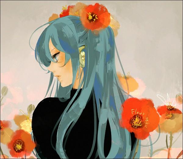 Tags: Anime, Gori Matsu, VOCALOID, Hatsune Miku, Poppy