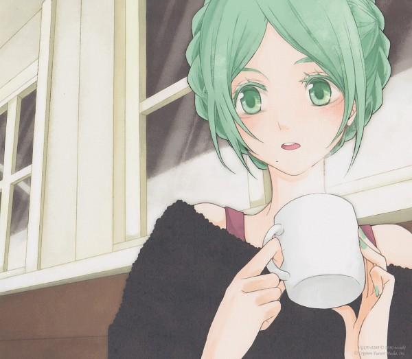 Tags: Anime, nezuki, VOCALOID, Hatsune Miku, Scan