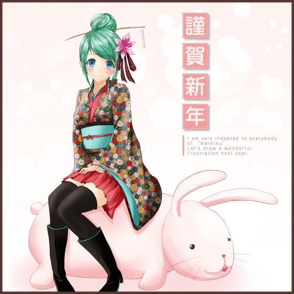 Tags: Anime, Ok-ray, VOCALOID, Hatsune Miku, Pixiv
