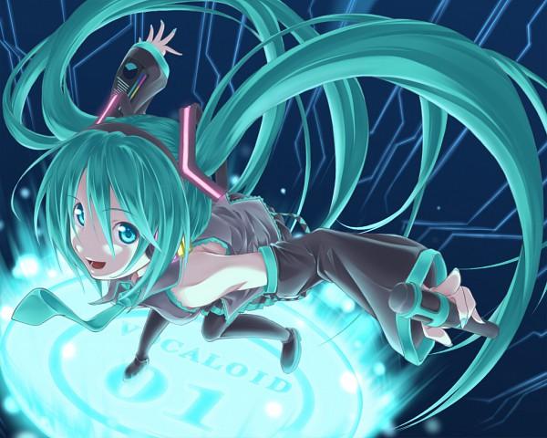 Tags: Anime, Pixiv Id 399144, VOCALOID, Hatsune Miku, Fanart