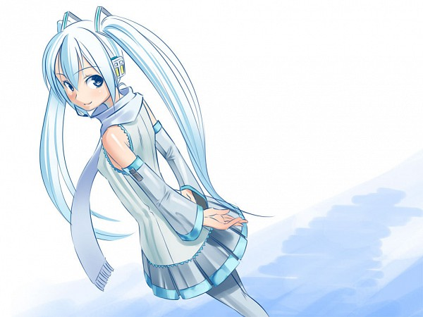 Tags: Anime, Okaka, VOCALOID, Hatsune Miku, Yuki Design, Wallpaper