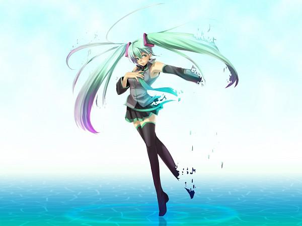 Tags: Anime, Kanotuki, VOCALOID, Hatsune Miku, The Disappearance of Hatsune Miku, Wallpaper